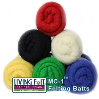 MC-1™ Merino Cross Batt: PRIMARY STUDIO PACK