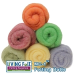 MC-1™ Merino Cross Batt: SPRING MEADOW Studio Pack