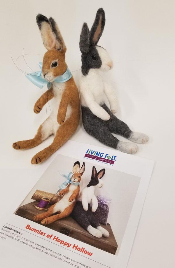 Needle-Felted Bunny