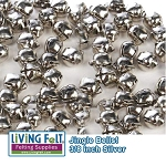 Jingle Bells Silver 9mm - 36 Pack