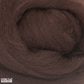 NZ Corriedale Wool – Cocoa