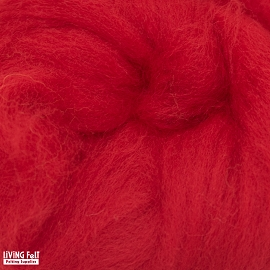 NZ Corriedale Wool – Red