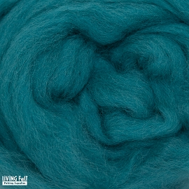 NZ Corriedale Wool – Teal
