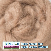 Camel Top - Baby  Natural Brown