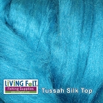 Tussah Silk Top - Lagoon