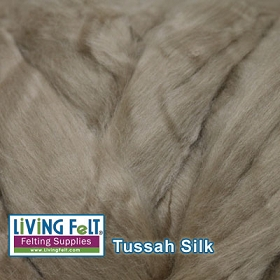 Tussah Silk Top - Sand Dollar