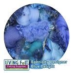 Nuno Felt Scarf Kit - Deluxe - Blue Delight