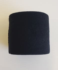 Prefelt Ribbon 100% Merino Wool - Ebony - 3.75