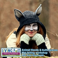 Felt Animal Hoods & Ruffle Scarves Workshop