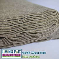 Felt Fabric 1mm - Driftwood - 100% Wool