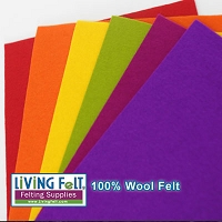 Felt Sheet 8 x 12 - 100% Wool - FALL FESTIVAL