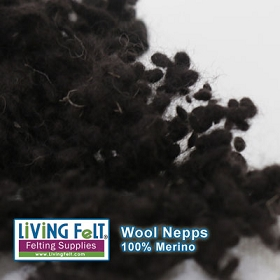 Wool Nepps - Coffee Bean