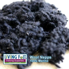 Wool Nepps - Ebony