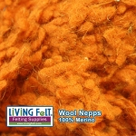 Wool Nepps - Pumpkin