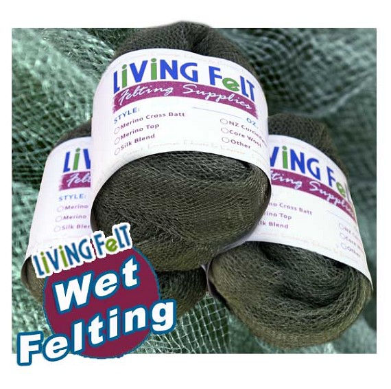 Excellent green mesh For Superior Wet Felting Results (Comes with one piece)