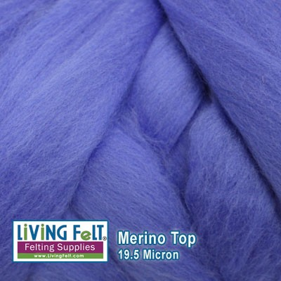 Merino Top – 19.5 Micron – Cornflower