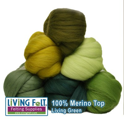 Merino Top Studio Pack: LIVING GREEN