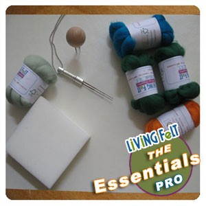 "Green Soy Needle Felting Professional Foam Work Surface 21"" x 15"""