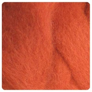NZ Corriedale Wool – Pumpkin