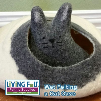 Felted Cat Cave Kit