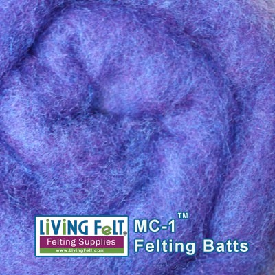 MC-1™ Merino Cross Batt – Blueberry