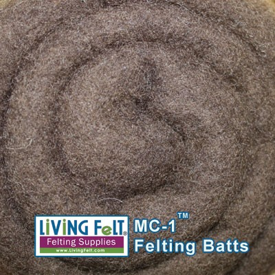 LIVING FELT BRAND MC-1  Merino Cross Batts