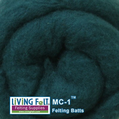 MC-1™ Merino Cross Batt – Evergreen