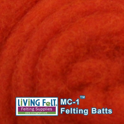 LIVING FELT BRAND MC-1™  Merino Cross Batts