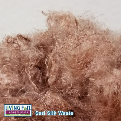 Sari Silk Waste - Shell